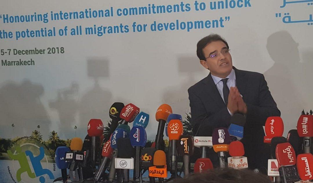 بنعتيق:  الهجرة لها علاقة بالتنمية وتساهم فيها بشكل كبير