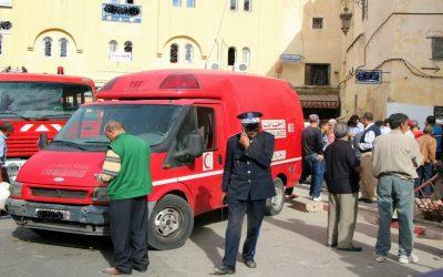 تأخر سيارة الاسعاف بمراكش لإنقاد مصابة في حادث سير يثير استياء في صفوف المواطنين
