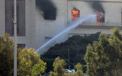 إنفجار يهز وزارة الخارجية الليبية..ومغربية ضمن الضحايا