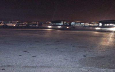 عمال حافلات النقل العمومي بالرباط يضربون عن العمل  بسبب عدم توصلهم برواتبهم