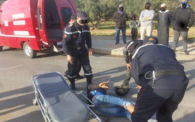 مصرع شخص و إصابة آخر بجروج خطيرة في حادثة مروع بمراكش