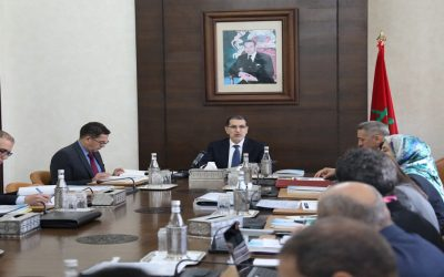العثماني يترأس اجتماع لجنة قيادة برنامج  تعميم استعمال تكنولوجيا المعلومات والاتصال في التعليم
