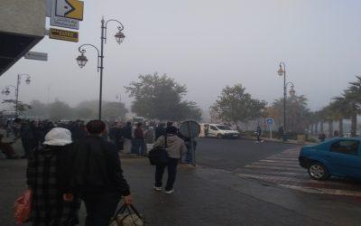 """بعد إمتناع مواطنين عن اداء أثمنة التذاكر """"ستاريو"""" تسحب بعضا من خطوط حافلاتها بالرباط (+صور)"""
