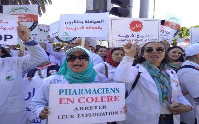 """بسبب تدهور وضعهم الاقتصادي..""""صيادلة المغرب"""" يصعدون ضد وزارة الدكالي"""