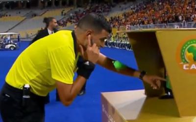 """تقنية """"الفار"""" تطبق رسميا لأول مرة بنهائيات كأس إفريقيا للأمم مصر 2019"""