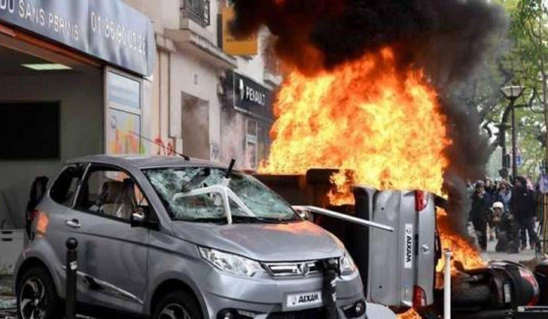 انفجار قوي يهز باريس يسفر عن سقوط عدد من الجرحى