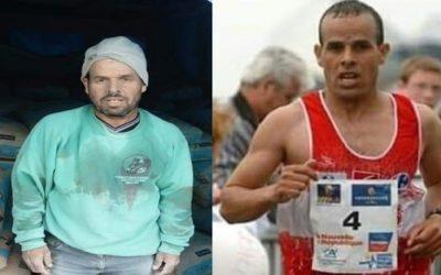 حياة العداء المغربي عبدالرحيم بن رضوان تنقلب رأسا على عقب.. من بطل رياضي إلى عامل بناء