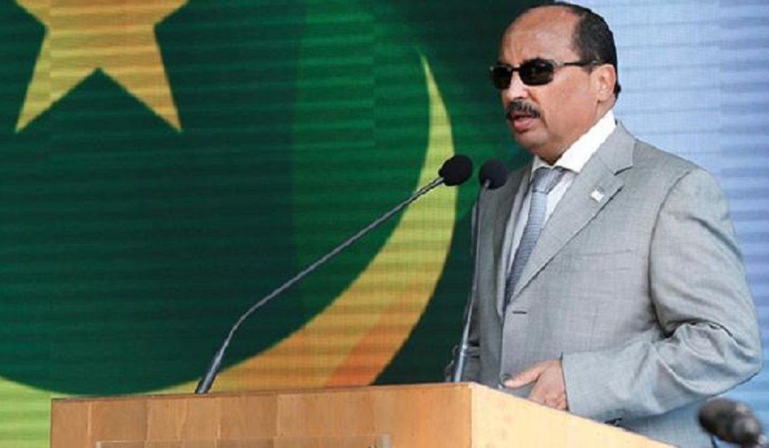 محمد ولد عبدالعزيز يدعو الموريتانيين إلى استئصال خطاب الكراهية خلال مشاركته في مسيرة ضخمة