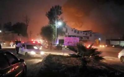 ارتفاع عدد قتلى انفجار خط أنابيب بالمكسيك إلى 73