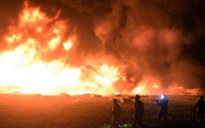 85 قتيلا في حادث انفجار أنبوب نفط بوسط المكسيك