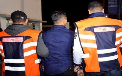 اعتقال شخص ينتمي لعصابة إجرامية خطيرة