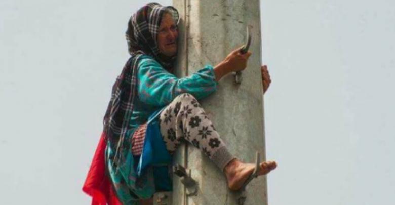 """لأزيد من 4 أشهر """"مي عيشة"""" لاتزال مستمرة في إضرابها أمام محكمة الإستئناف بالقنيطرة"""