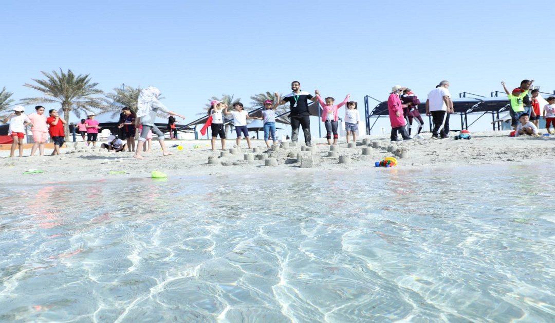 رابطة الجالية المغربية تحتفل باليوم الرياضي في رحلة إلى شاطئ دخان