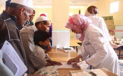 قافلة طبية متعددة التخصصات لفائدة لأزيد من 700 مستفيد بخنيفرة