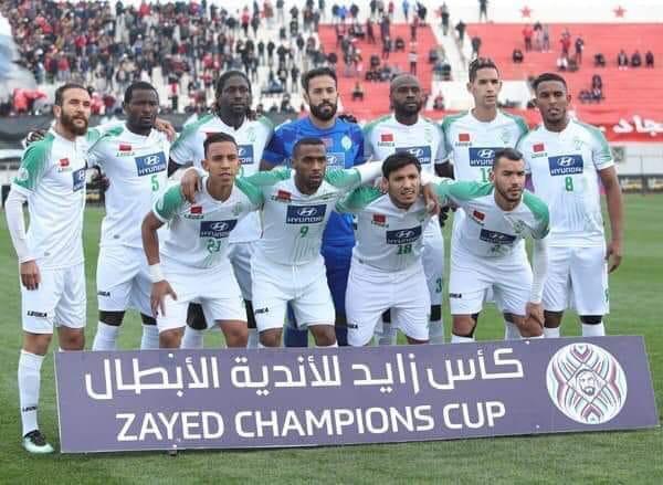 رغم فوزه بالأراضي التونسية.. الرجاء البيضاوي يودع منافسة كأس زايد للأندية البطلة