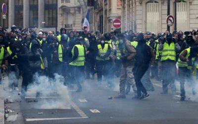 """""""صحافيون بلاد حدود"""": أكثر من 50 صحفيا جرحوا في فرنسا منذ بداية احتجاجات """"السترات الصفراء"""""""