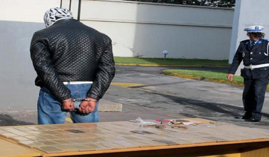 اعتقال أكبر مروجي المخدرات بالعيون