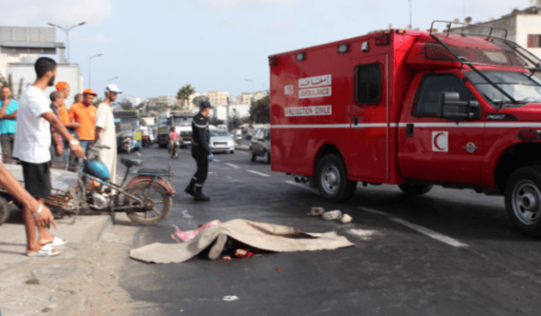 مصرع شخص واصابة اخرين في حادثة سير مروعة بنواحي وارزازات