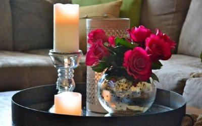 أفكار لاستخدام الورود في ديكور منزلك