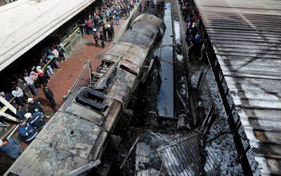 """تجديد حبس المتهمين في فاجعة قطار محطة """"رمسيس"""" بمصر"""