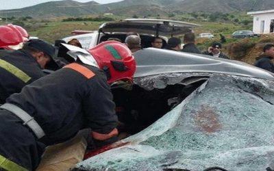 وفاة سائحة و إصابة آخرين في حادثسير خطيرة بأكادير