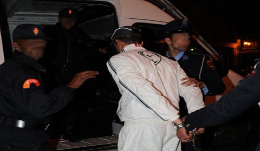 اعتقال شخص سبق وعرض حياة عناصر الشرطة لتهديد جدي وخطير