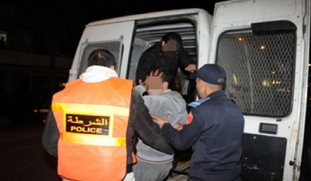 العيون..اعتقال قاصرين متلبسين بالسرقة