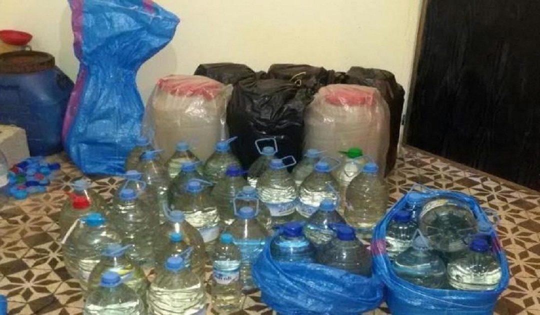 """اعتقال شخصين ينشطان في إعداد مسكر """"الماحيا"""" ببوجدور"""
