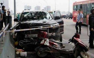 الصين: سائق يدهس متعمدا حشدا من المواطنين ويقتل 6 أشخاص