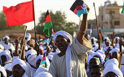 توقيع وثائق الفترة الانتقالية بين الأطراف السودانية