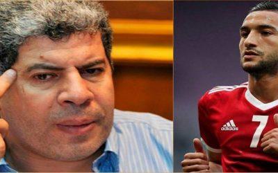 المصري أحمد شوبير يتمنى إصابة حكيم زياش وتصريحاته تغضب المغاربة