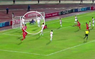 مخرجة مباراة الزمالك وحسنية أكادير تكشف حقيقة عدم إعادة لقطة الهدف المرفوض للفريق السوسي
