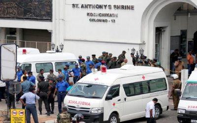 مقتل 137 شخصا إثر سلسلة تفجيرات استهدفت كنائس وفنادق بسريلانكا