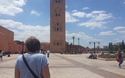 سائحة فرنسية تعلن إسلامها بمسجد الكتبية بمراكش