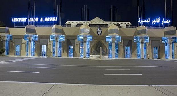 تزايد عدد المسافرين الذين استعملوا مطار المسيرة ـ أكادير