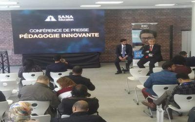 مجموعة مدارس سانا للتربية تنظم ندوة صحفية حول البيداغوجيا المبتكرة