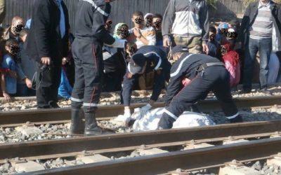 قطار يحول جثة شاب إلى أشلاء بفاس