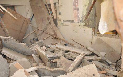 انهيار سقف منزل على 4 عمال بالبيضاء