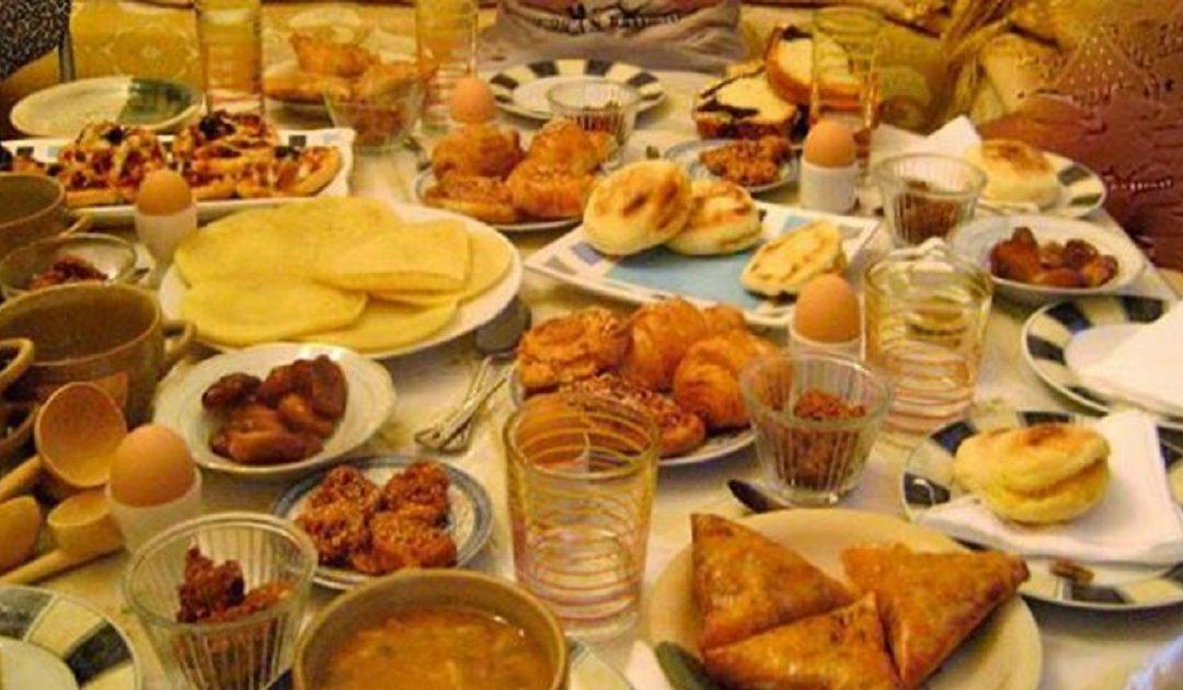 منظمة الصحة العالمية تحدد الترتيب المناسب لتناول وجبة الإفطار المتكاملة خلال شهر رمضان المبارك