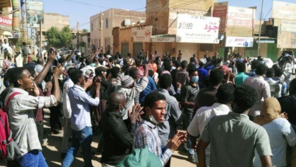 إطلاق نار على متظاهرين في الخرطوم