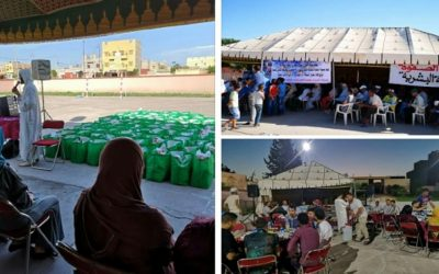 استفادة أزيد من 120 أسرة من قفة رمضان بضواحي الفقيه بن صالح