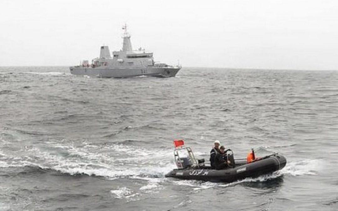 البحرية الملكية تنقذ 117 مهاجرا سريا