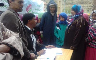 تنظيم حملة طبية مجانية للكشف عن أمراض العيون بضواحي أزيلال
