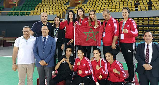 المغربيات يحرزن خمس ميداليات ذهبية بالدوري الدولي للملاكمة
