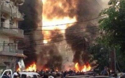 عاجل .. انفجارين انتحاريين بتونس العاصمة يسفر عن سقوط ضحايا