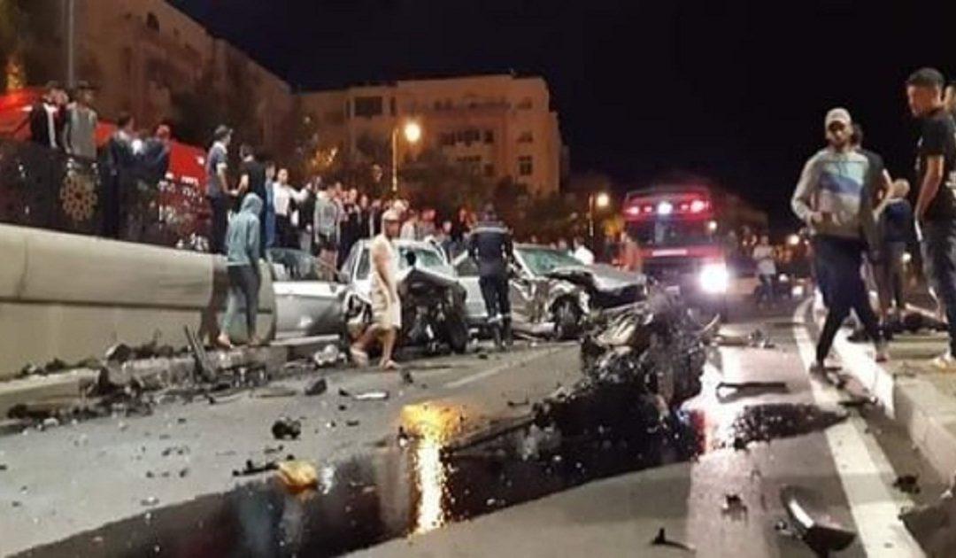 إصابة 5 أشخاص في حادثتي سير بطنجة + صور