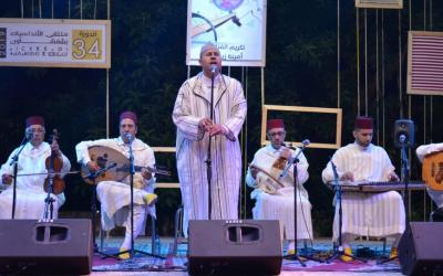 الفنان سعيد بلقاضي يمتع جمهور شفشاون بعرض موسيقي متنوع ضمن فعاليات الدورة 34 لمهرجان أندلسيات