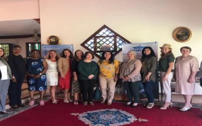 زوجة ملحق الدفاع لسفارة مصر بالمغرب تقيم حفلاً لزوجات الدبلوماسيين وسيدات المجتمع المغربي