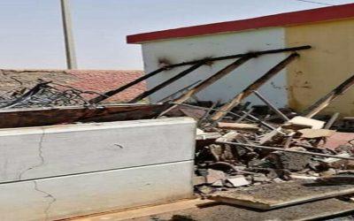 حريق يأتي على حجرة دراسية بضواحي الفقيه بن صالح + صورة