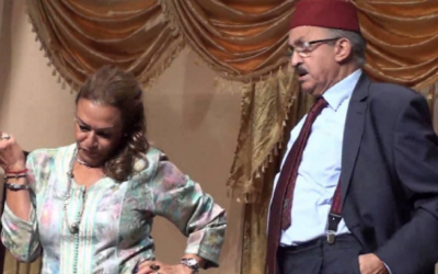 الثنائي محمد الجم ونزهة الركراكي يعودان إلى التلفزيون من بوابة قناة أجنبية